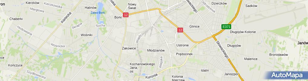 Zdjęcie satelitarne Instal-Tech Piotr Mrozowicz