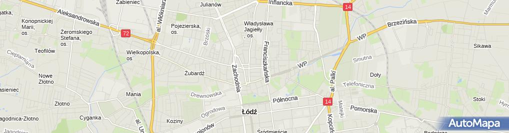 Zdjęcie satelitarne Inter-Locum Zarządzanie i Administrowanie Nieruchomościami Emili