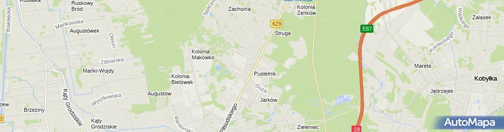 Zdjęcie satelitarne Inter Serwis
