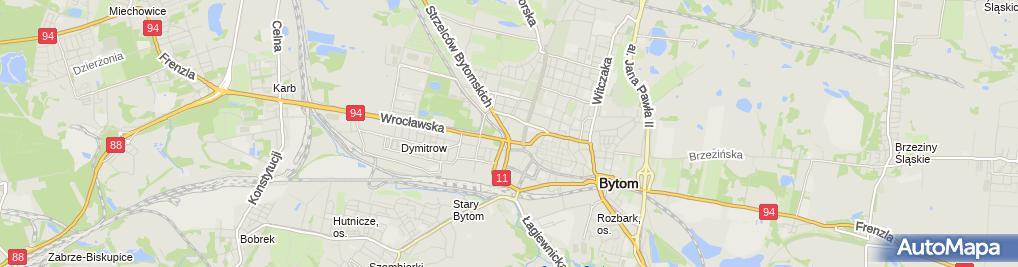 Zdjęcie satelitarne Interior Zaczyński Marek Boryń Stanisław