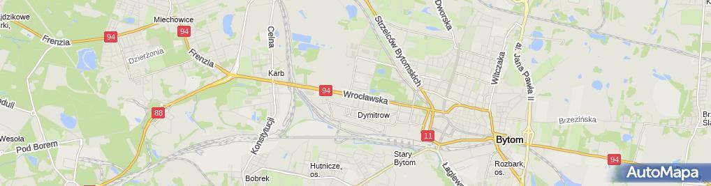 Zdjęcie satelitarne Irena Kamińska - Działalność Gospodarcza