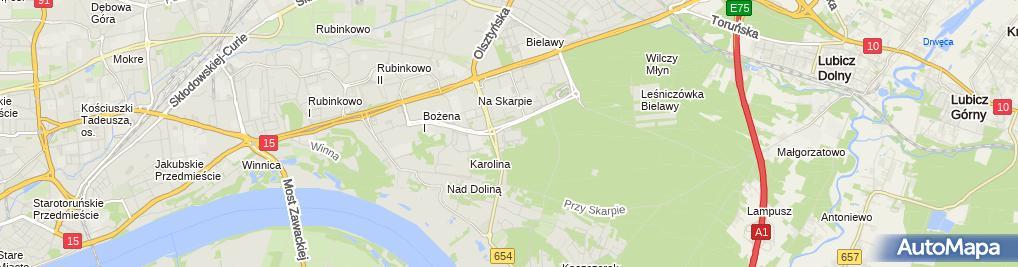 Zdjęcie satelitarne Irena Motylewska - Działalność Gospodarcza