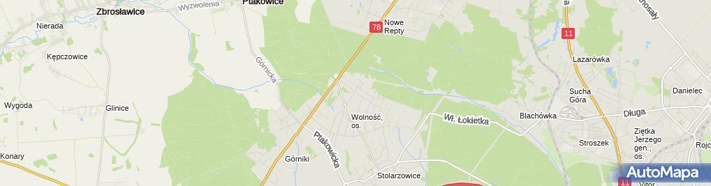 Zdjęcie satelitarne Irena Piszczan - Działalność Gospodarcza