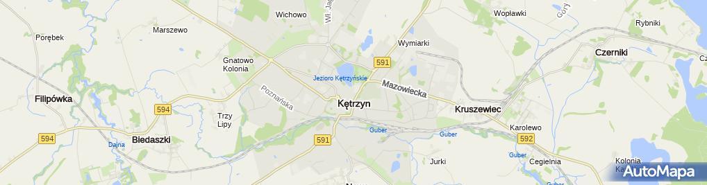 Zdjęcie satelitarne Irena Przybyłek - Działalność Gospodarcza