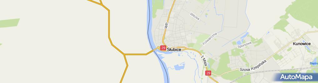 Zdjęcie satelitarne Irena Sobczak - Działalność Gospodarcza