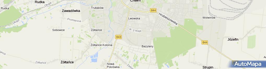 Zdjęcie satelitarne Ireneusz Głębocki
