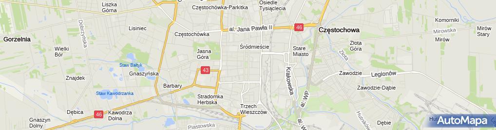 Zdjęcie satelitarne Iso Software Systems Polska