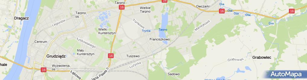 Zdjęcie satelitarne IT Serwis