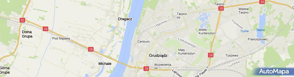 Zdjęcie satelitarne Iwona Brusikowska - Działalność Gospodarcza