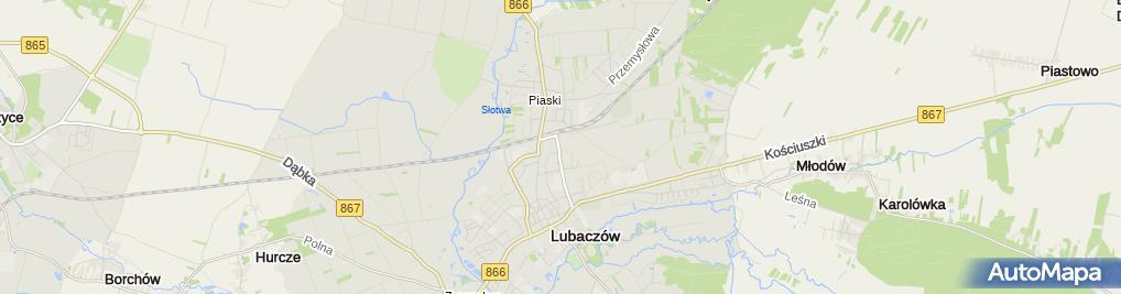 """Zdjęcie satelitarne Iwona Osowska Biuro Rachunkowe """"Subiekt"""""""