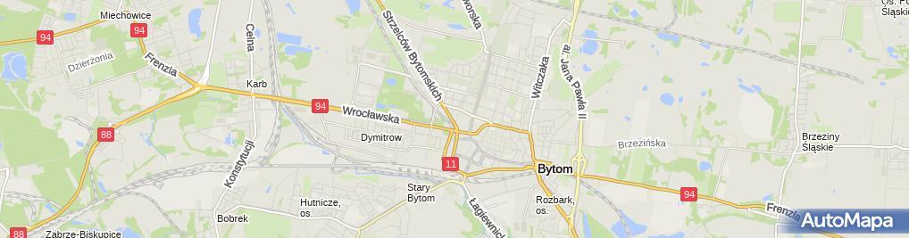 Zdjęcie satelitarne Iwona Tomaszewska - Działalność Gospodarcza