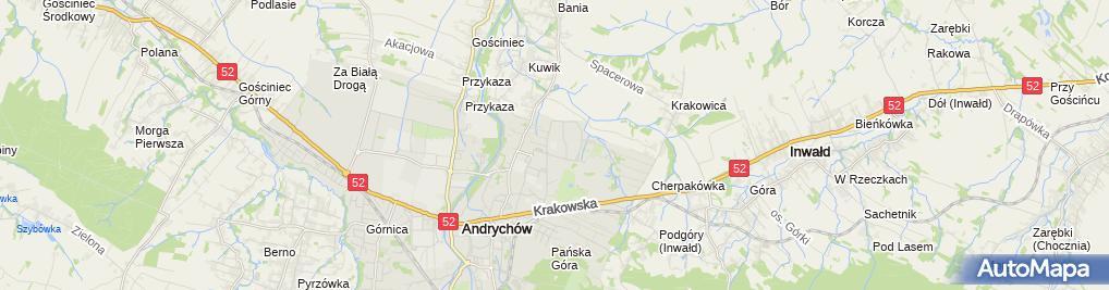 Zdjęcie satelitarne Iwona Żurek - Działalność Gospodarcza