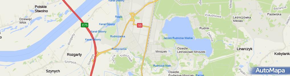 Zdjęcie satelitarne Izabela Barcikowska-Otremba