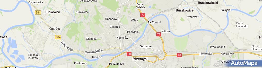 Zdjęcie satelitarne Izabela Gałuszka
