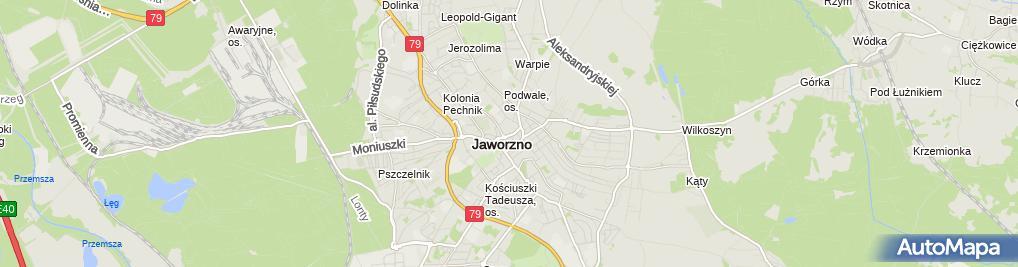 Zdjęcie satelitarne Jacek Chrapek - Działalność Gospodarcza