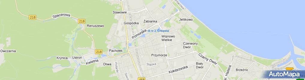Zdjęcie satelitarne Jacek Kuchta - Działalność Gospodarcza
