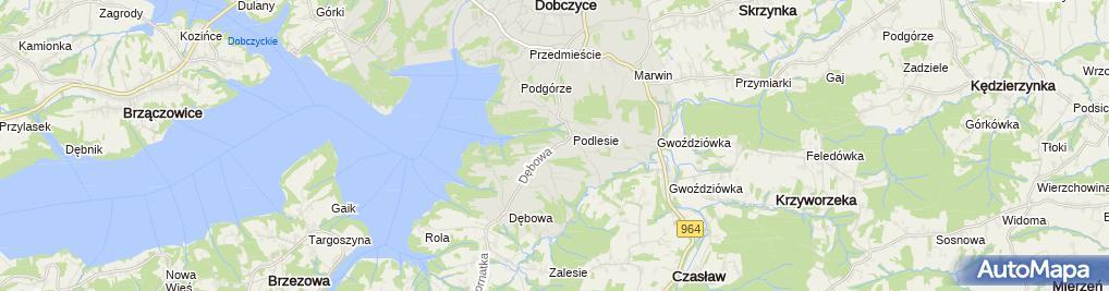 Zdjęcie satelitarne Jacek Kuliński Gra-Stan Firma Produkcyjno Handlowo Usługowa