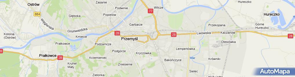 Zdjęcie satelitarne Jacek Magda Firma Handlowo-Usługowa J i J