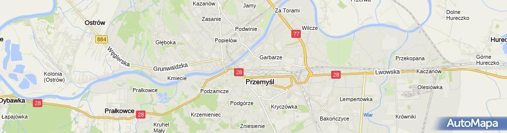 Zdjęcie satelitarne Jacek Mołczan Przedsiębiorstwo Handlowo-Usługowe Art.-Gum