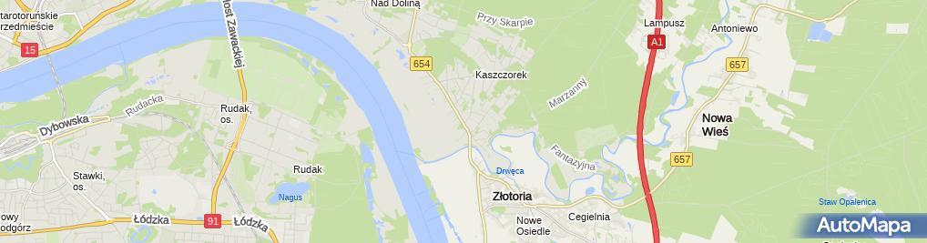 Zdjęcie satelitarne Jacek Wiśniewski Zakład Usług Stolarskich , Anwis