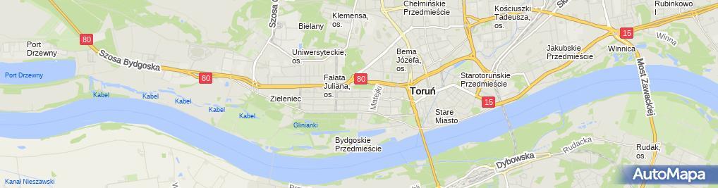 Zdjęcie satelitarne Jadwiga Helwand Figurski Zbigniew Figurski Włodzimierz