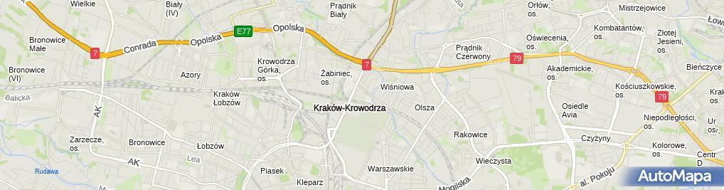 Zdjęcie satelitarne Jadwiga Jasica-Statkowska Ambit Tour