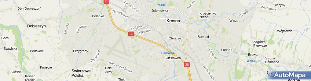 Zdjęcie satelitarne Jadwiga Pigoń - Działalność Gospodarcza