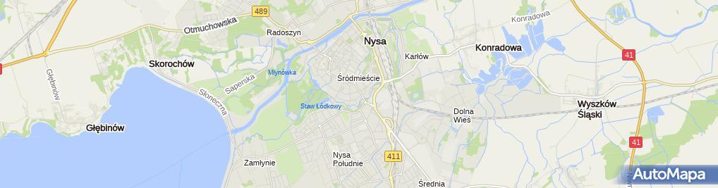 Zdjęcie satelitarne Jan Kanas - Działalność Gospodarcza