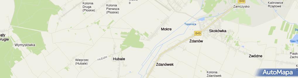 Zdjęcie satelitarne Jan Kłembokowski - Zakład Usługowo-Produkcyjny Filunek