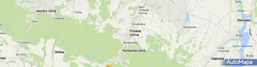 Zdjęcie satelitarne Jan Niemczyk - Działalność Gospodarcza