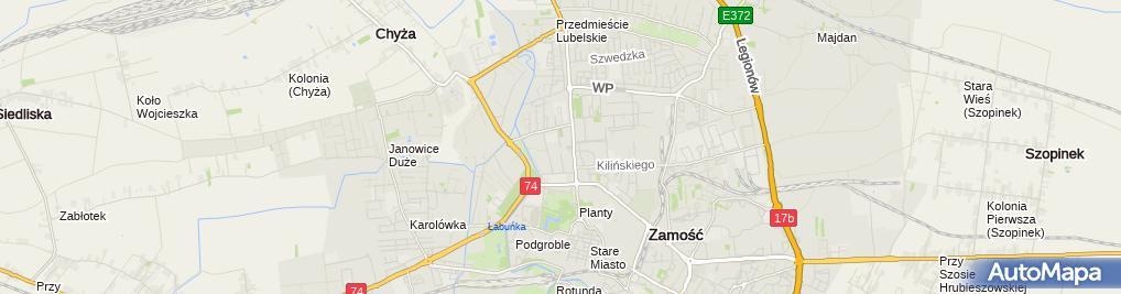 Zdjęcie satelitarne Jan Wiśniewski - Działalność Gospodarcza
