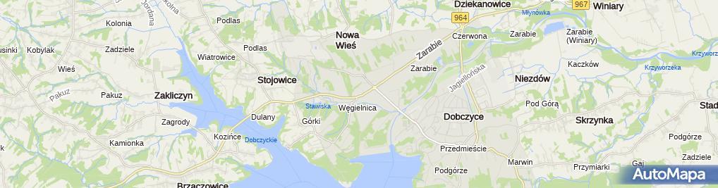 Zdjęcie satelitarne Janina Kasprzyk - Działalność Gospodarcza