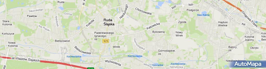 Zdjęcie satelitarne Janusz Cholewczyński - Działalność Gospodarcza