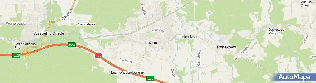 Zdjęcie satelitarne Janusz Patelczyk - Działalność Gospodarcza