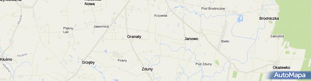 Zdjęcie satelitarne Janusz Sugalski Lakiernictwo Pojazdowe