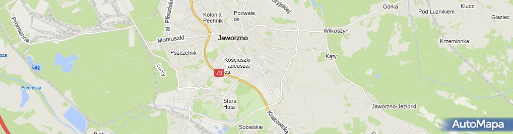 Zdjęcie satelitarne Jarbo Jania Jarosław Konrad Świerz Bogna Helena