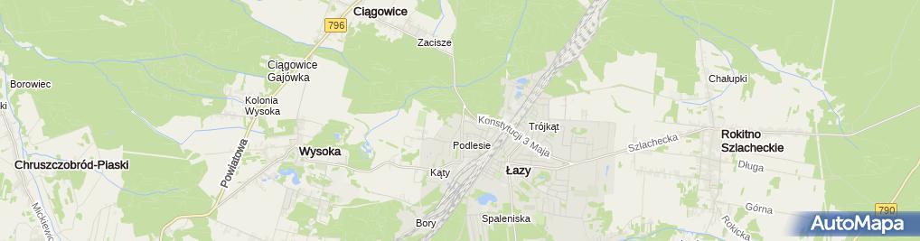 Zdjęcie satelitarne Jarkpol Dystrybutory