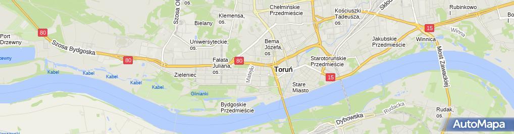 Zdjęcie satelitarne Jaros Stanisława