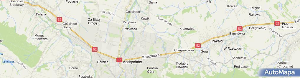 Zdjęcie satelitarne Jarosław Błachutfirma Handlowa Jaro