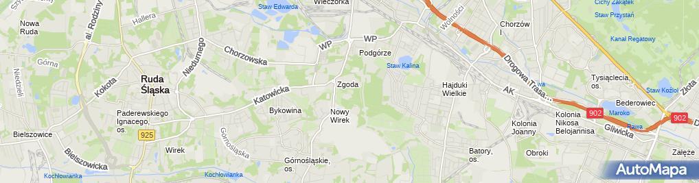 Zdjęcie satelitarne Jarosław Kamiński - Działalność Gospodarcza