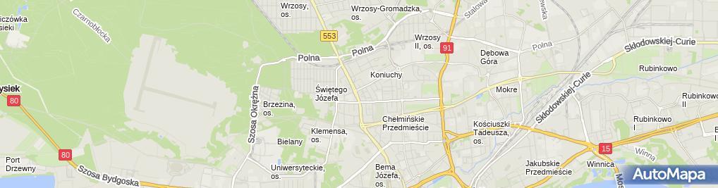 Zdjęcie satelitarne Jarosław Koc - Działalność Gospodarcza