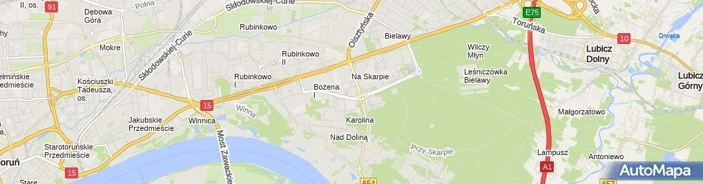 Zdjęcie satelitarne Jarosław Kuncman - Działalność Gospodarcza