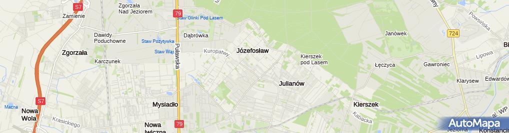 Zdjęcie satelitarne Jarosław Żuchowski - Działalność Gospodarcza
