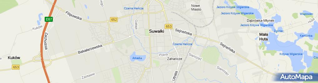 Zdjęcie satelitarne Jartax Trans Jarosław Staśkiewicz
