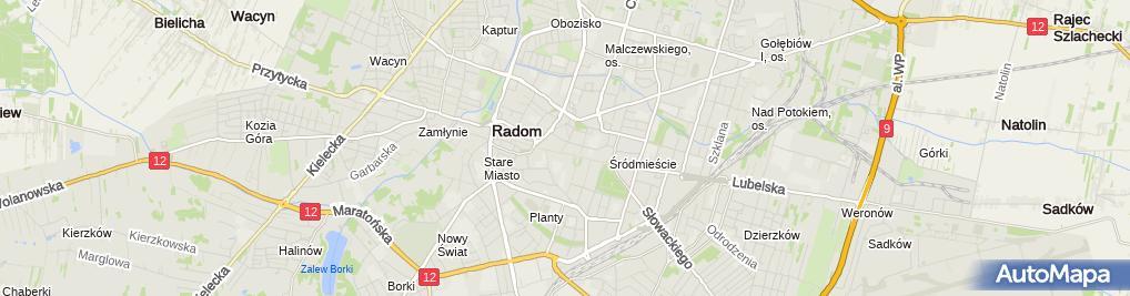 Zdjęcie satelitarne Jędruś
