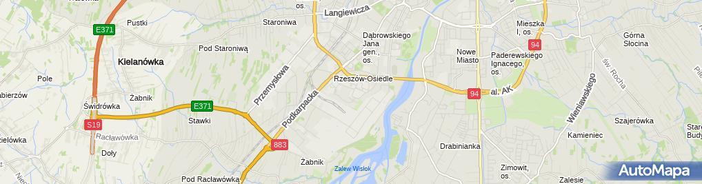 Zdjęcie satelitarne JELWEK Sp. z o.o.