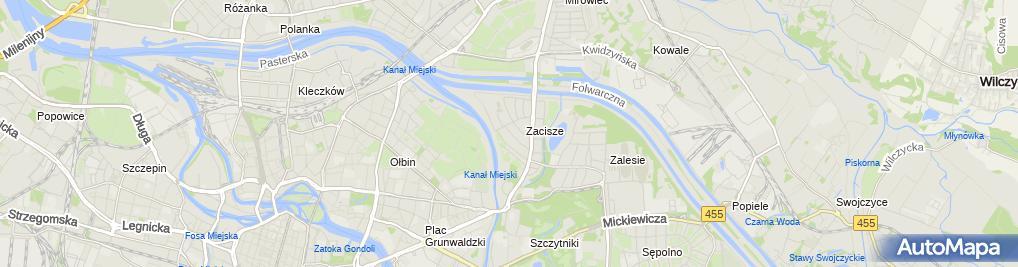 Zdjęcie satelitarne Jerzy Białecki Zakład Elektromechaniczny