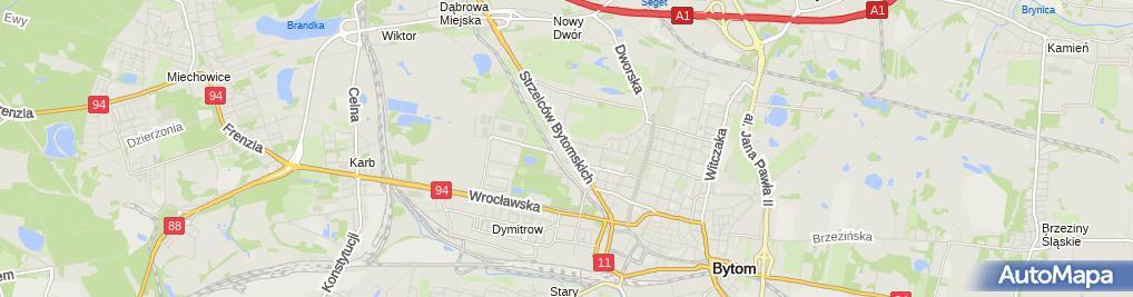 Zdjęcie satelitarne Jerzy Dziuk - Działalność Gospodarcza