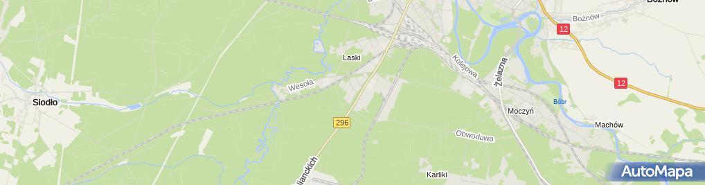 Zdjęcie satelitarne Jerzy Minnicki Przedsiębiorstwo Produkcyjno-Handlowe Alex