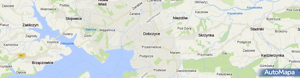 Zdjęcie satelitarne Jerzy Skoczylas - Działalność Gospodarcza